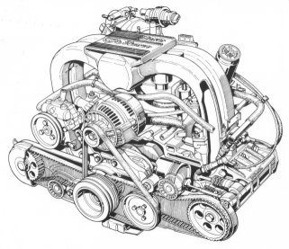 Il motore boxer