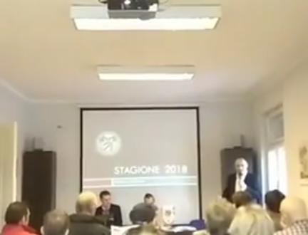 Presentazione della stagione 2018 al G.A.S. Club di Gorizia